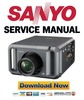 Sanyo PDG-DHT100L Service Manual and Repair Guide