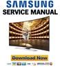 Thumbnail Samsung UN65HU9000 UN65HU9000H UN65HU9000HXPA Service Manual and Repair Guide