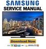 Thumbnail Samsung UN40HU6900 UN40HU6900F UN40HU6900FXZA Service Manual