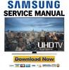 Thumbnail Samsung UN40JU7100 UN40JU7100F UN40JU7100FXZA Service Manual and Repair Guide