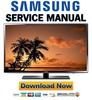 Thumbnail Samsung UN46H6201 UN46H6201AF UN46H6201AFXZA Service Manual and Repair Guide