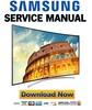 Thumbnail Samsung UN55H8000 UN55H8000AF UN55H8000AFXZA Service Manual and Repair Guide