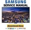 Thumbnail Samsung UN55HU8550 UN55HU8550F UN55HU8550FXZA Service Manual
