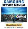 Thumbnail Samsung UN55JU7500 UN55JU7500F UN55JU7500FXZA Service Manual and Repair Guide