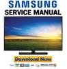 Thumbnail Samsung UN58H5202 UN58H5202AF UN58H5202AFXZA Service Manual