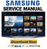 Thumbnail Samsung UN60H7150 UN60H7150AF UN60H7150AFXZA Service Manual and Repair Guide