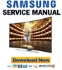 Thumbnail Samsung UN65HU9000 UN65HU9000F UN65HU9000FXZA Service Manual and Repair Guide