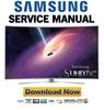 Thumbnail Samsung UN65JS9500 UN65JS9500F UN65JS9500FXZA Service Manual