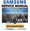 Thumbnail Samsung UN75JU7100 UN75JU7100F UN75JU7100FXZA Service Manual and Repair Guide