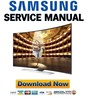 Thumbnail Samsung UN78HU9000 UN78HU9000H UN78HU9000HXPA Service Manual and Repair Guide