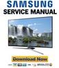 Thumbnail Samsung UN40J6300 UN40J6300AF UN40J6300AFXZA Service Manual
