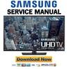 Thumbnail Samsung UN40JU650 UN40JU650DF UN40JU650DFXZA Service Manual