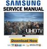 Thumbnail Samsung UN50HU8500 UN50HU8500F UN50HU8500FXZA Service Manual