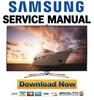 Thumbnail Samsung UN55F7450 UN55F7450AF UN55F7450AFXZA Service Manual