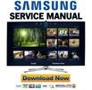 Thumbnail Samsung UN55F7500 UN55F7500AF UN55F7500AFXZA Service Manual