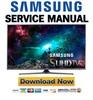 Thumbnail Samsung UN55JS700 UN55JS700DF UN55JS700DFXZA Service Manual