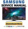 Thumbnail Samsung UN60JS8000 UN60JS8000F UN60JS8000FXZA Service Manual