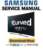 Thumbnail Samsung UN78JU750 UN78JU750DF UN78JU750DFXZA Service Manual