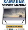 Thumbnail Samsung UN85S9 UN85S9AF UN85S9AFXZA Service Manual
