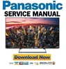 Thumbnail Panasonic TC-65CX850U TV Service Manual & Repair Guide