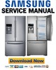 Thumbnail Samsung RF23HTEDBSR Service Manual & Repair Guide