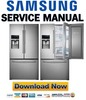 Thumbnail Samsung RF28HDEDTSR RF28HDEDBSR Service Manual & Repair Guide