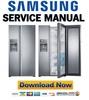 Thumbnail Samsung RH22H9010SR RH29H9000SR Service Manual & Repair Guide
