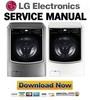 Thumbnail LG WM9000HVA WM9000HWA Service Manual and Repair Guide