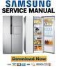 Thumbnail Samsung RS554NRUA1J RS554NRUASL Service Manual and Repair Guide