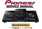 Thumbnail Pioneer PRO DJ XDJ-RX Service Manual and Repair Guide