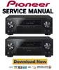 Thumbnail Pioneer VSX-1130-K + Elite VSX-90 Service Manual and Repair Guide