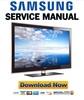 Thumbnail Samsung UA40B7000WR UA46B7000WR UA55B7000WR Service Manual and Repair Guide