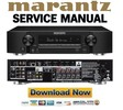 Thumbnail Marantz NR1504 Service Manual and Repair Guide