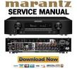 Thumbnail Marantz NR1606 Service Manual and Repair Guide