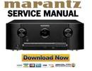Thumbnail Marantz SR5010 Service Manual and Repair Guide