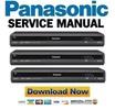 Thumbnail Panasonic DMR-EZ28 EZ28EB Service Manual and Repair Guide
