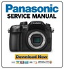 Thumbnail Panasonic Lumix DMC-GH4 GH4A GH4H Service Manual
