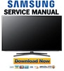 Thumbnail Samsung UN55ES6100G UN46ES6100G UN40ES6100G Service Manual and Repair Guide