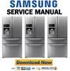 Thumbnail Samsung RF4267HARS Service Manual and Repair Guide