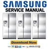 Thumbnail Samsung RS265TDRS Service Manual and Repair Guide