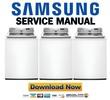 Thumbnail Samsung WA422PRHDWR Service Manual and Repair Guide