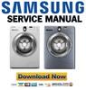 Thumbnail Samsung WF218ANB WF218ANW WF218ANS Service Manual and Repair Guide