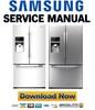Thumbnail Samsung RFG296HDRS RFG296HDWP RFG296HDPN Service Manual and Repair Guide