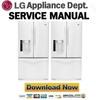 Thumbnail LG LFX25975SW Service Manual and Repair Guide