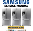 Thumbnail Samsung RFG298HDRS RFG298HDPN Service Manual Repair Guide