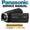 Thumbnail Panasonic HC-V180 V180K Service Manual Repair Guide