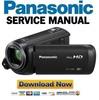 Thumbnail Panasonic HC V380 V380K Service Manual Repair Guide
