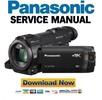 Thumbnail Panasonic HC VXF990 VXF999 WXF990 WXF990M WXF991 Service Manual