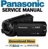 Thumbnail Panasonic HC-W580 W580M Service Manual Repair Guide