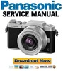 Thumbnail Panasonic Lumix DMC-GF7 GF7K GF7W Service Manual